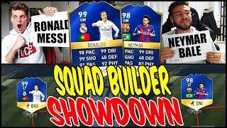 99 TOTS RONALDO vs 98 TOTS NEYMAR SQUAD BUILDER SHOWDOWN!  - FIFA 17 ULTIMATE TEAM (DEUTSCH)