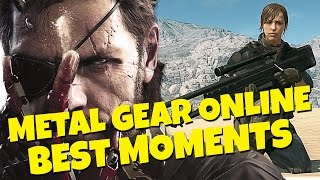Metal Gear Solid 5 Online - Best Moments (PC)