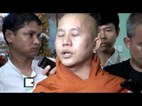U Wirathu Slaps Burmese Supreme Sanga League over Decision on 969