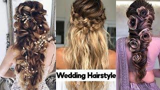 Wedding Hairstyle | Wedding hairstyle image | Hairstyle fashion | Beautiful hairstyle