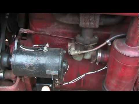 hqdefault polarizing your delco remy generator on a farmall a,b,c,sa,super c farmall super c wiring harness at n-0.co