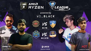 | HINDI | Mumbai Aces vs Chennai Clutchers | AMD Ryzen Skyesports League 2021 | Day 24