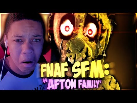 WILLIAM AFTON IS STILL HERE || (FNAF SFM AFTON FAMILY REACTION)