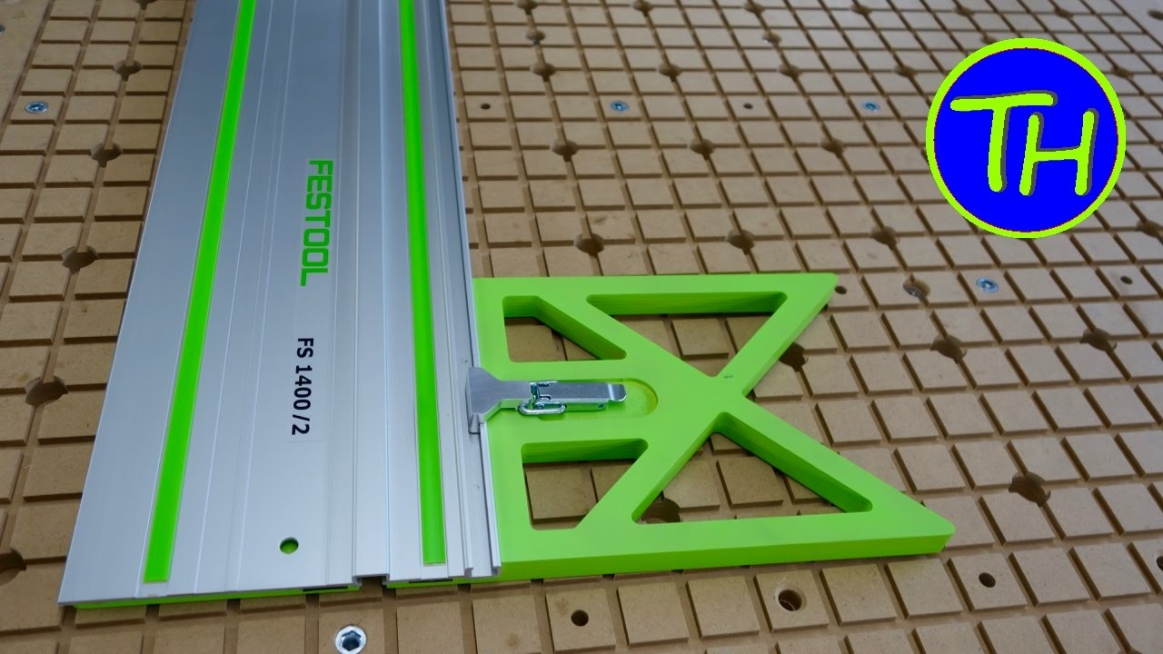 How To Make A Festool Fs1400 Guide Rail Square For The
