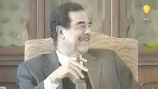 بكاء حارس صدام حسين الامريكي بعد نقله .. سنحميك بأجسادنا !!