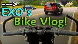 Bike Ride Vlog w/ EXO    July 2012