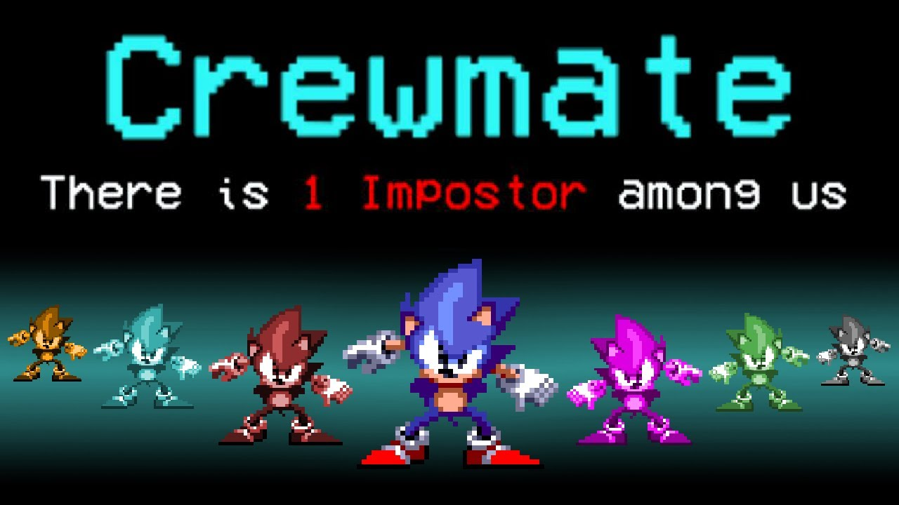Among Us, but Sonic is the imposter