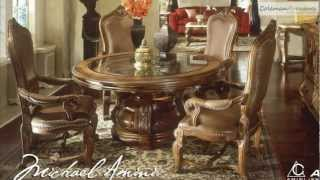 Tuscano Round Dining Room Collection From Aico Furniture