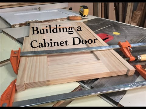 How To Build A Cabinet Door Youtube