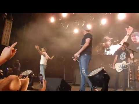 Dierks Bentley  Cole Swindell  Flatliner  Isleta Amphitheater Albs  912017