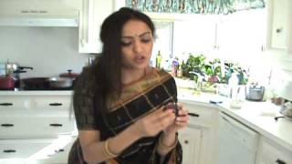 Radha's Spicy Andhra Vankai/ vankaya/ eggplant Koora/ kura