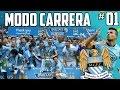 ¡ARRANCA UN ESPECTACULAR RETO! #01 | MODO CARRERA - MANCHESTER CITY | FIFA 16