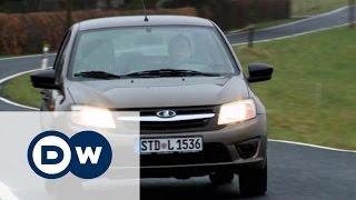 Lada Granta - тест-драйв на немецких дорогах(Немецкие специалисты тестируют седан Lada Granta. Результат превзошел ожидания. Другие видео DW на сайте http://dw.com/r..., 2016-02-14T10:54:25.000Z)