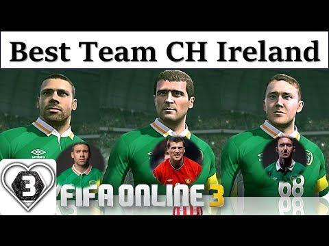 I Love FO3 | Xây Dựng Đội Hình Team Color CỘNG HÒA IRELAND | Review Roy Keane WL & Đồng Bọn