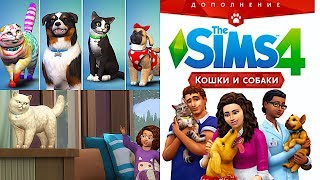 THE SIMS 4 КОШКИ И СОБАКИ | ОБЗОР НА РУССКОМ | SIMS 4 CATS AND DOGS GAMEPLAY REVIEW | XENIA WARRIOR
