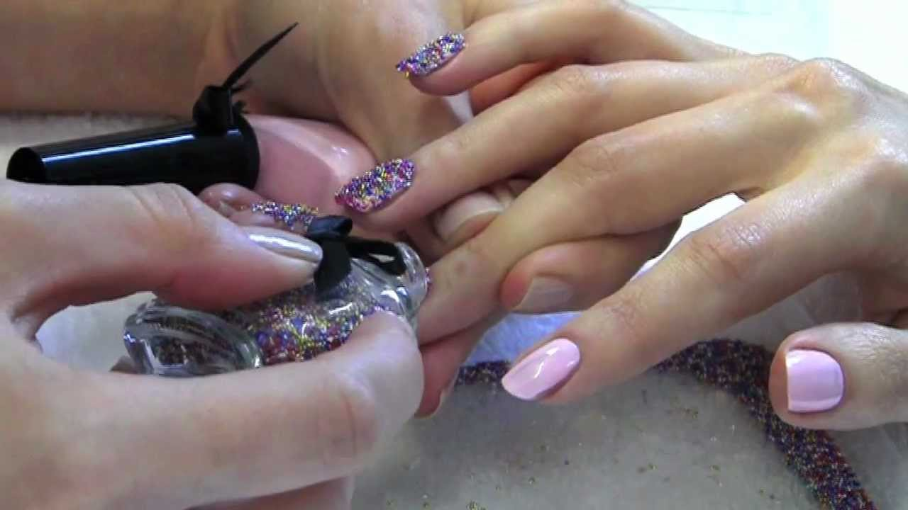 The Caviar Manicure - YouTube