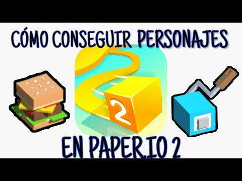 Cómo CONSEGUIR PERSONAJES   Paper.io 2 🎲   Juegos Ocasionales