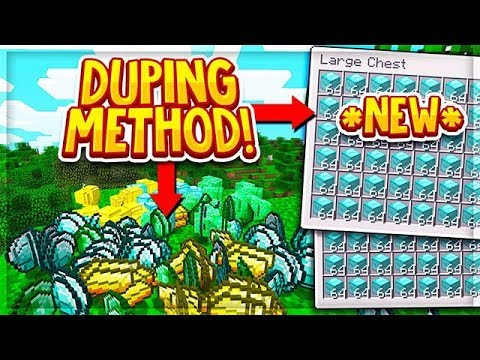 *NEW* MINECRAFT DUPLICATION GLITCH FOR UNLIMITED ITEMS! [STILL WORKING]    Minecraft Duping