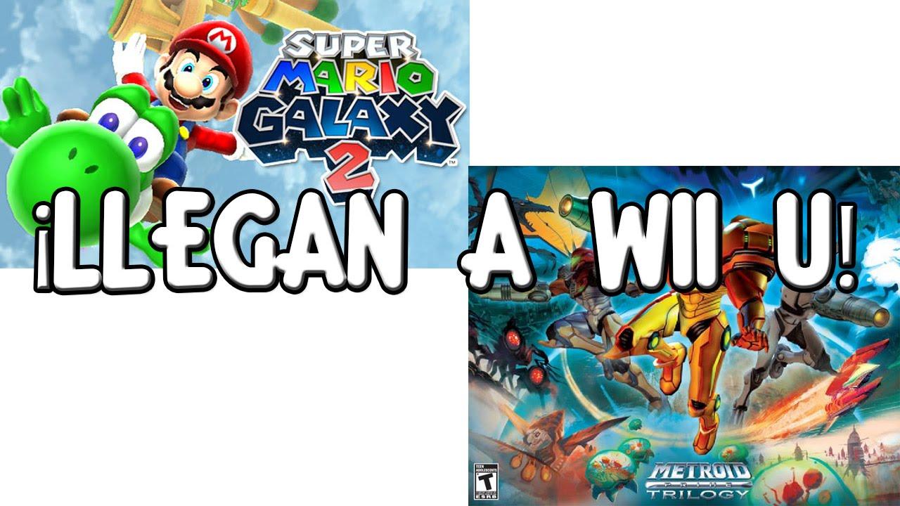 Los Mejores Juegos De Wii Llegan A Wii U Super Mario Galaxy 2 En