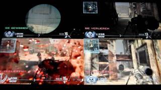 call of duty mw 2 split screen multiplayer gameplay zu 4