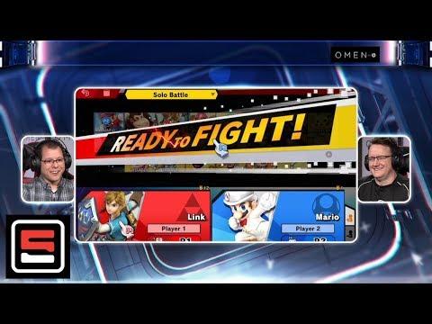 Bill Trinen Plays Super Smash Bros. Ultimate, Discusses Release And Future Content | ESPN Esports