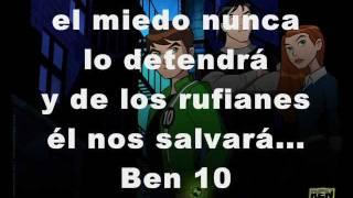 Canción de Ben 10 en español -Letra