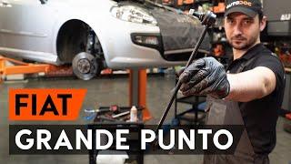 Nézzen meg egy videó útmutatók a FIAT GRANDE PUNTO (199) Gumiharang Készlet Kormányzás csere