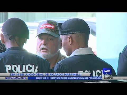 Día 14 de juicio oral de Ricardo Martinelli