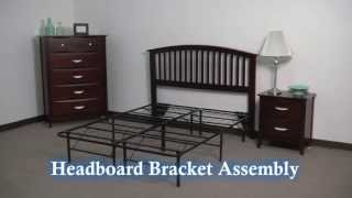 Small Universal Headboard Footboard Bracket