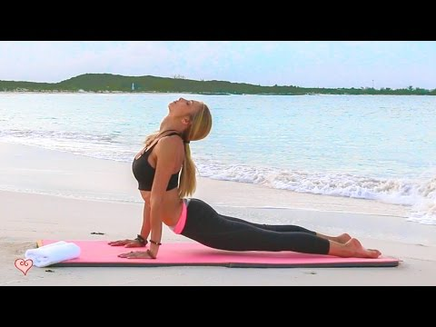 Stress Relief Yoga Relaxed Calming Flow To Clear Your Mind