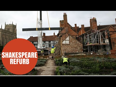Extension work starts on 500 year old building - home to Shakespeare's granddaughter