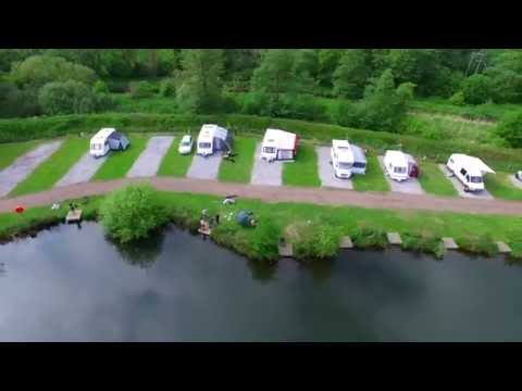 Narborough Fisheries - West Norfolk Fishing Lakes And Caravan Site. Video By DroneVista.co.uk
