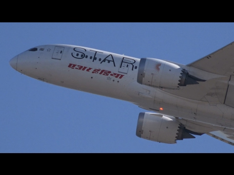 Air India Star Alliance Livery Boeing 787-8 VT-ANU Takeoff from KIX 06R