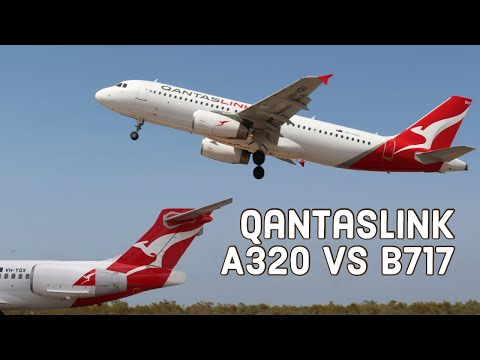 What's Better - Qantas A320 Or B717? Economy Class Compared On QantasLink Regional Flights To Broome