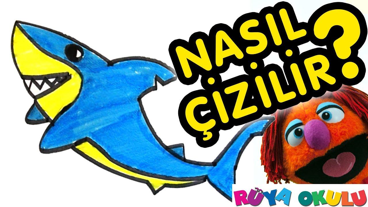 Nasıl çizilir Köpek Balığı çocuklar Için Resim çizme Rüya
