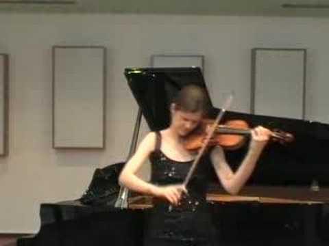 Elsa GRETHER, Eugène YSAYE, Sonata no.3, Ballade