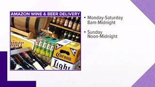 Amazon: One-hour beer and wine delivery