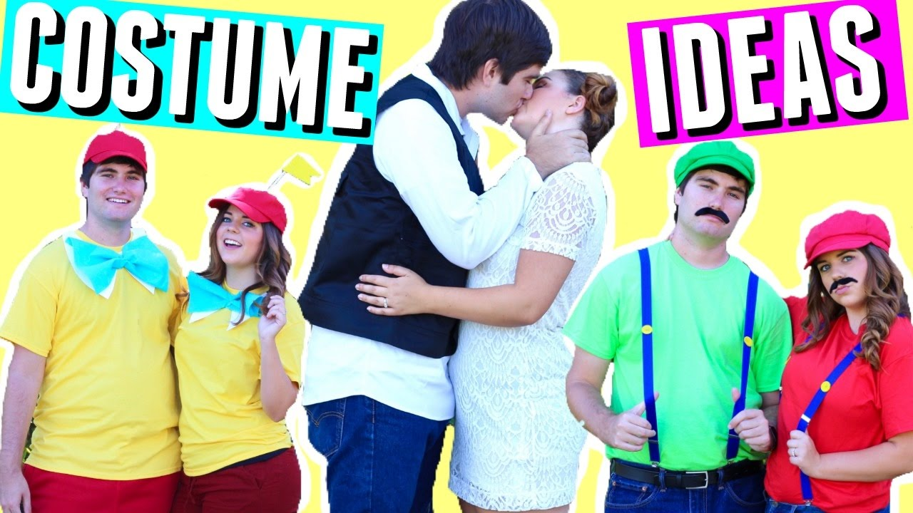 diy halloween costumes for best friends couples 2016 halloween costume ideas for teens youtube
