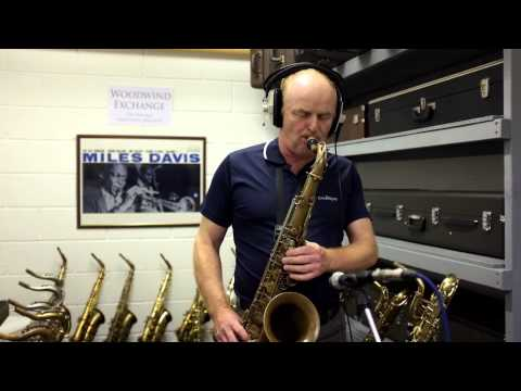 Misty - Jazz Backing Track played on a 1949 Selmer SBA Tenor Sax