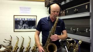 Misty - Jazz Backing Track played on a 1949 Selmer SBA Tenor Sax