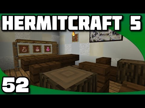 Hermitcraft 5 - Ep. 52: Building the Tavern
