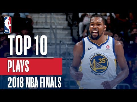 Top 10 Plays From The 2018 NBA Finals