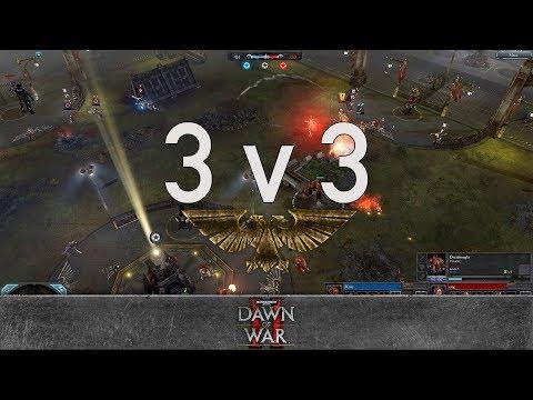 Dawn of War 2 - Faction Wars 2018   Space Marines vs Eldar