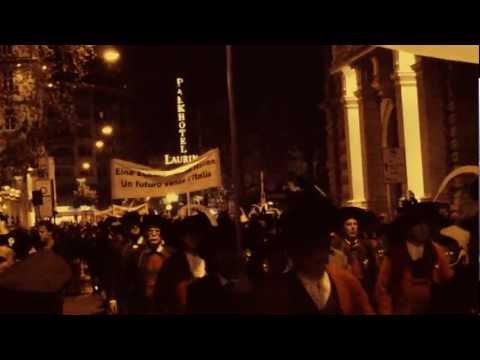 Freiheitsmarsch 2012 in Bozen. (Teil 2)  Marcia di liberta´ a Bolzano (Parte 2)