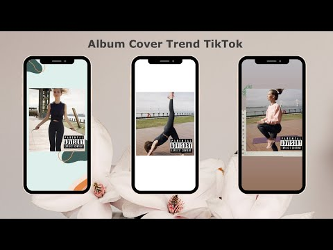 How to Do the Album Cover Trend on TikTok Tutorial ( 2 Ways )