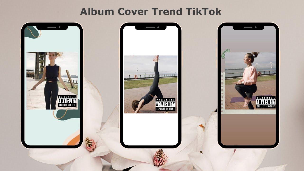 How To Do The Album Cover Trend On Tiktok Tutorial 2 Ways Youtube