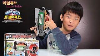트레인블래스터 파워레인져 트레인포스 반다이남코 장난감 열차합체 Ressha Sentai ToQger Toys Unboxing & Review おもちゃ đồ chơi 라임튜브