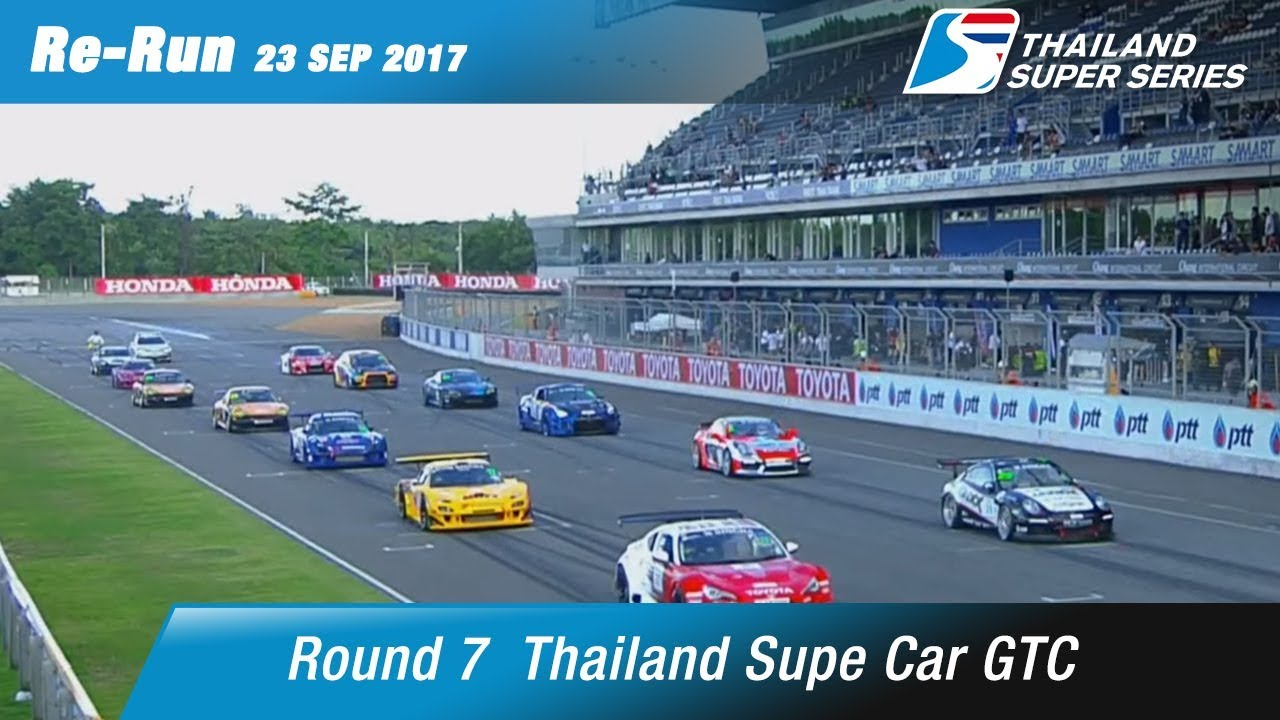 Thailand Supe Car GTC Round 7 @Chang International Circuit