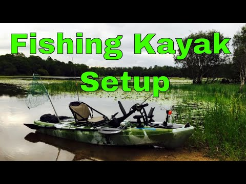 Fishing Kayak Setup | Fishing & Cooking Paul Breheny