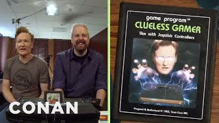 Conan O'Brien Plays Atari 2600 Classics: Clueless Gamer | Conan on TBS